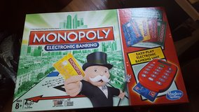 monopoly electronic banking game new in Naperville, Illinois