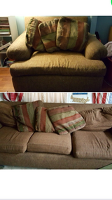 Couch and chair and 1/2 in Joliet, Illinois