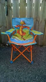 Winnie the pooh folding chair with storage bag in Aurora, Illinois