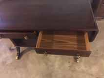Solid wood sofa table in Fort Campbell, Kentucky