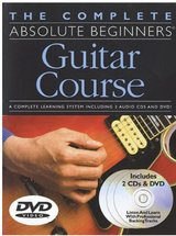 The Complete Absolute Beginners Guitar Course: Book/2-CD/DVD Pack in Vacaville, California