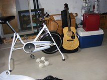 exercise bike & hand weights in Sandwich, Illinois