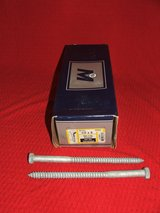 "Box of 25 ~ 1/2"" x 8"" Hex Head Lag Screw Hot Dipped Galvanized NEW in Batavia, Illinois"