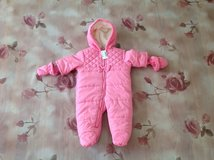New with Tag the Children s Place Baby Girl Snowsuit Bunting, size 3-6 months in Palatine, Illinois