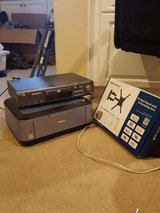 TV mount, DVD player, and printer in San Diego, California