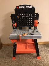 Black&Decker tool bench w/tools toy in Bartlett, Illinois