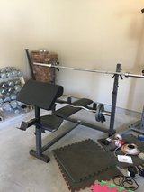 Bench & Weight Set in Houston, Texas
