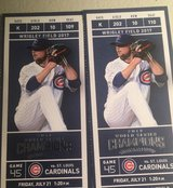 CUBS vs CARDINALS FRIDAY 7/21 in Aurora, Illinois