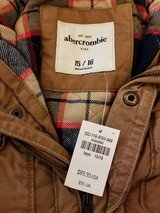 NEW Abercrombie Boys Coat size 15/16 in Camp Lejeune, North Carolina
