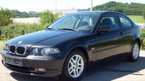 BMW 316 ti 2003 Compact automatic AC NEW Inspection nice car free delivery in Hohenfels, Germany