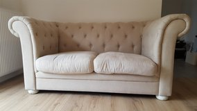 chesterfield Couch Barock loveseat in Ramstein, Germany