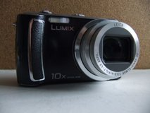DMC-TZ5 black point and shoot Panasonic Leica camera; made in Japan in Okinawa, Japan
