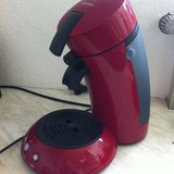 Senseo Two-Cup Coffee Maker, Red EUC in Stuttgart, GE