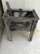 Rustic Cooler inside Stand (fixer upper) in Houston, Texas