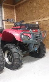 Honda Rancher Four Trax ATV, TRX-420 4x4, lift kit, winch, after market rims & tires & brush guard in Camp Lejeune, North Carolina