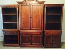 3 piece entertainment wall unit in Kingwood, Texas