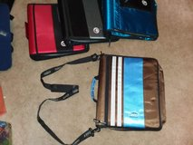 case it zipper 3 ring binder with shoulder strap in Naperville, Illinois