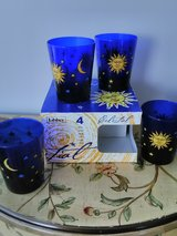 4 piece celestial glass set in box in Glendale Heights, Illinois