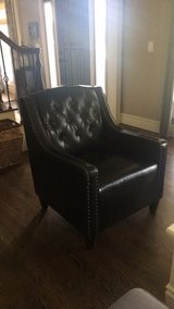 Leather studded accent chair in Bartlett, Illinois