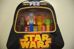 Limited Edition Pez 'Star Wars' Gift Set - Darth Vader Shaped Tin - Never Opened in Tinley Park, Illinois