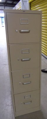 Hon 4 Drawer Vertical File Cabinet in Houston, Texas