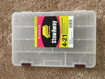 4 Plano 4-21 Stowaway Storage Boxes in Naperville, Illinois