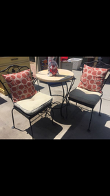 Wrought Iron Bistro Set in 29 Palms, California