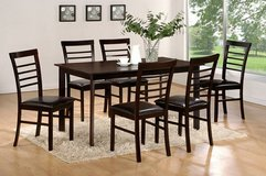 BRAND NEW! URBAN SOLID WOOD 7PC DINING SET in Vista, California
