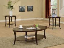 BRAND NEW! CONTEMPORARY 3PC COFFEE TABLE SET in Camp Pendleton, California