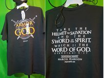 """Armor of God"" Christian themed T-shirts in Dothan, Alabama"