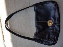 Black leather Coach Satchel in Camp Pendleton, California