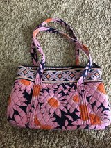 Vera Bradley Purse - Navy & Pink Floral in Houston, Texas