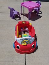 Laugh and learn car in DeKalb, Illinois