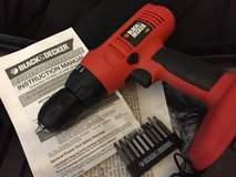 "Black & Decker 3/8"" Cordless Drill with Case in Kingwood, Texas"