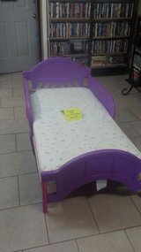 toddler bed with mattress in Warner Robins, Georgia
