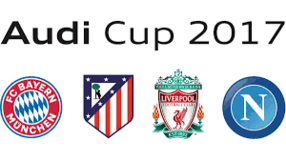 FC Bayern / Athletico Madrid / Liverpool / Napoli - Audi Cup Tickets - Aug 1 and 2 in Ramstein, Germany