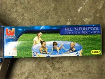Bestway Fill 'n Fun Pool - 72 inch x 15 inch(183cm x 38cm) in Aurora, Illinois