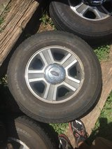 Set of 4: 17 inch 6 LUG Premium Stock Ford F-150 Rims and Tires in Byron, Georgia