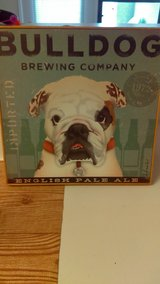 Bulldog brewery print in Cannon AFB, New Mexico