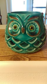 Owl candle holder in Cannon AFB, New Mexico