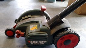 Electric lawn edger in Kirtland AFB, New Mexico