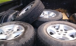 Stock Jeep Wheels and Tired in Beaufort, South Carolina