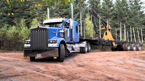 ISO log truck drivers in Fort Polk, Louisiana
