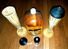 Bamboo Tiki Torch Lights with Torch Fuel in Camp Lejeune, North Carolina