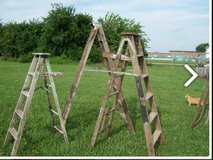 I'm looking for old wooden ladders in any condition in DeRidder, Louisiana