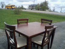 Vintage cafe' style dinner table-- in Watertown, New York