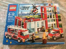 New LEGO City Fire Station Set 60004 in 29 Palms, California