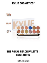 Kylie Royal Peach Palette in Travis AFB, California