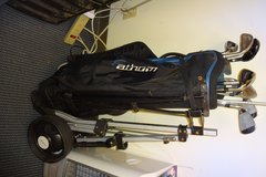 Fathom light weight Golf bag and 10 Clubs in Okinawa, Japan
