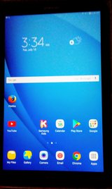 Brand new Samsung galaxy tab a w/case&protective glass in Cadiz, Kentucky